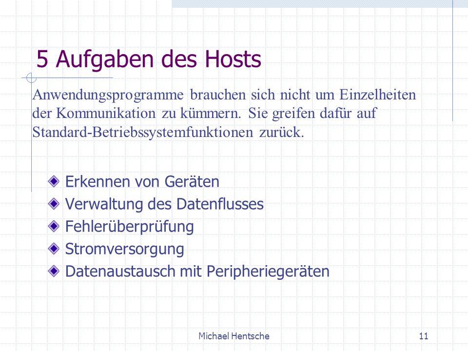 5 Aufgaben des Hosts