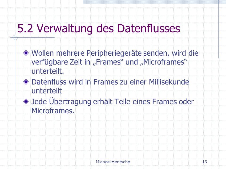 5.2 Verwaltung des Datenflusses
