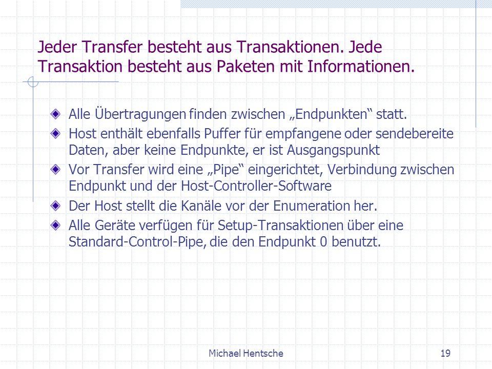 Jeder Transfer besteht aus Transaktionen