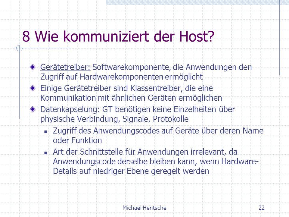 8 Wie kommuniziert der Host