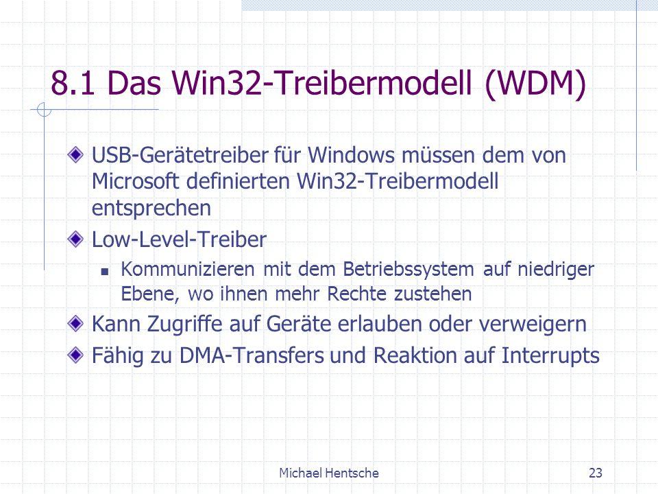 8.1 Das Win32-Treibermodell (WDM)
