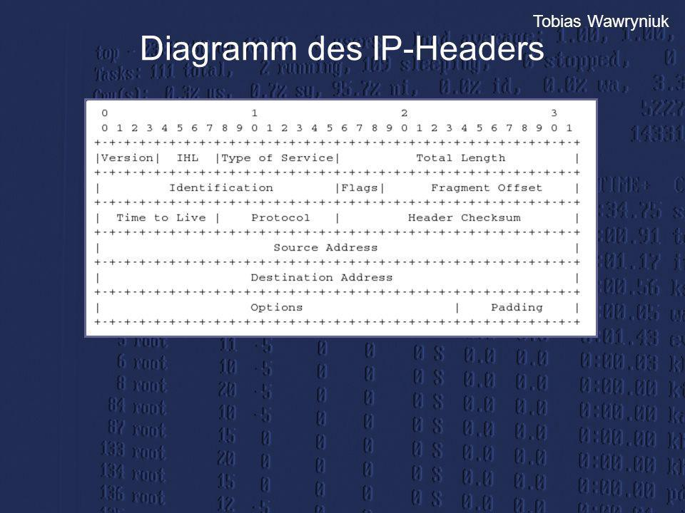 Diagramm des IP-Headers
