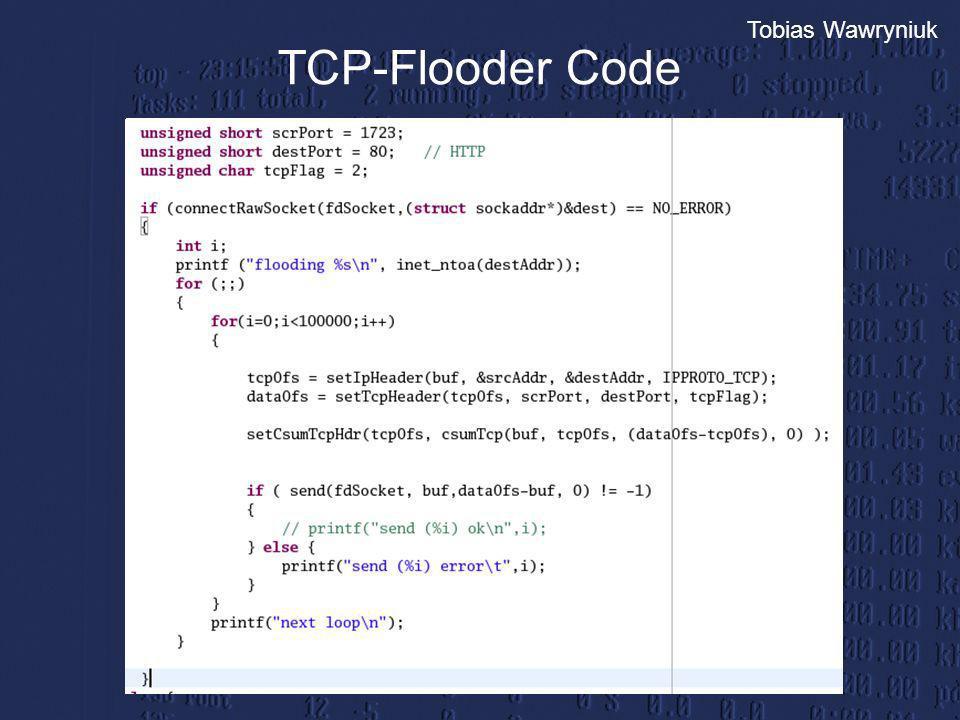 TCP-Flooder Code