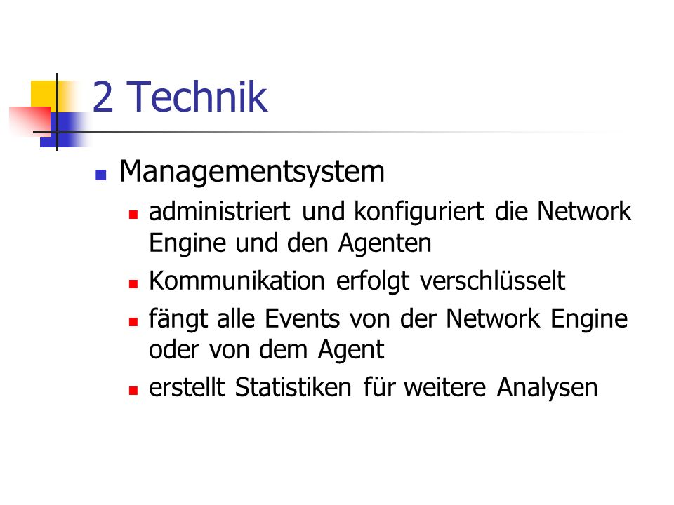 2 Technik Managementsystem