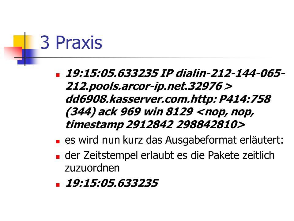 3 Praxis
