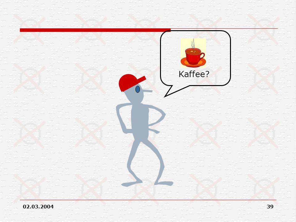 Kaffee.