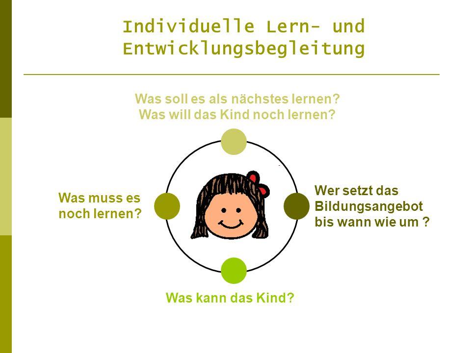 Individuelle Lern- und Entwicklungsbegleitung