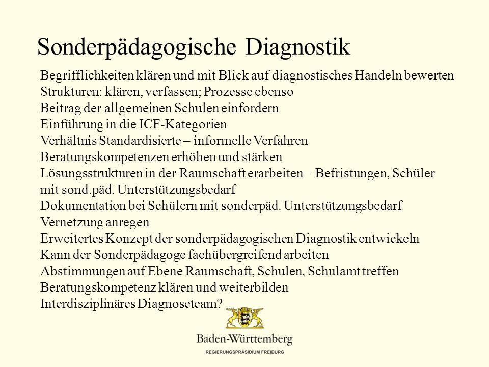 Sonderpädagogische Diagnostik