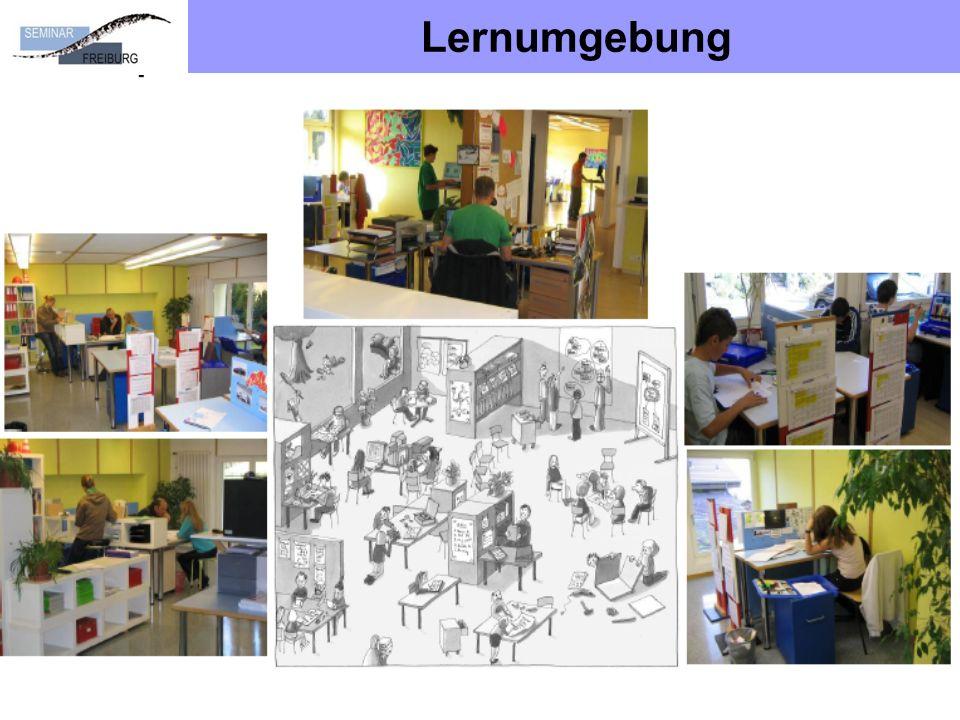 Lernumgebung Ausgestaltung Lernumfeld