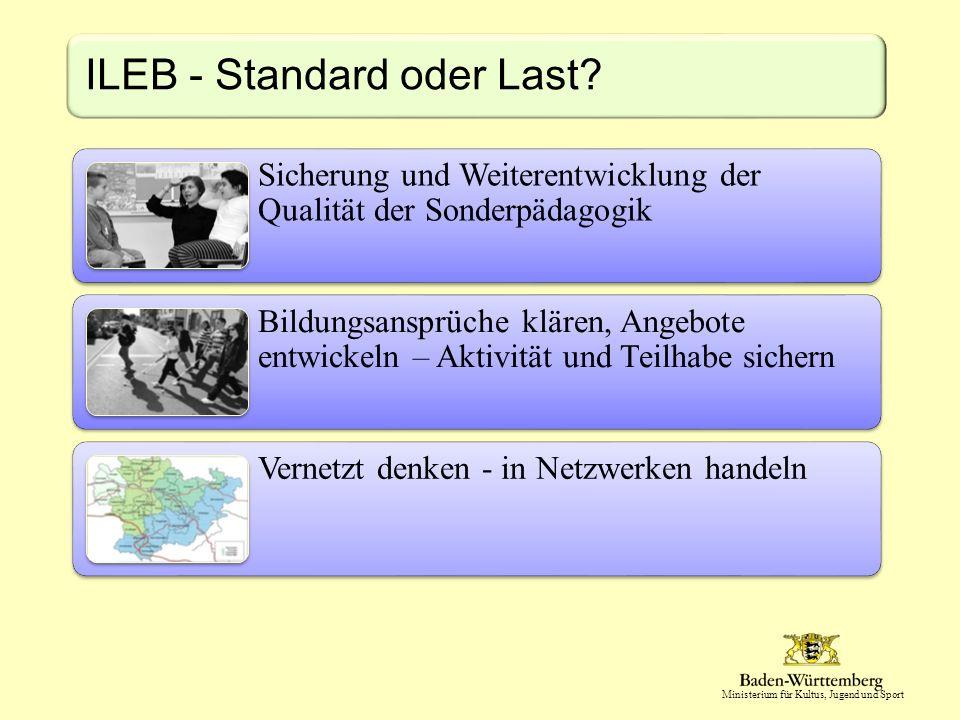 ILEB - Standard oder Last