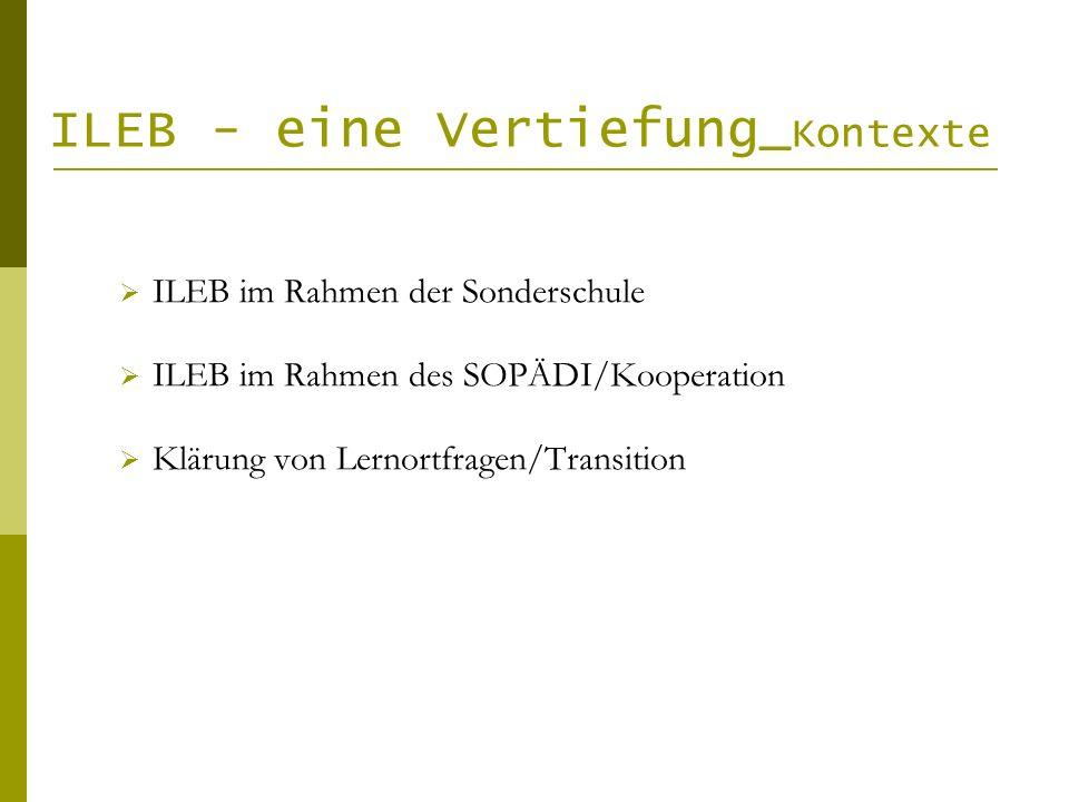 ILEB - eine Vertiefung_Kontexte
