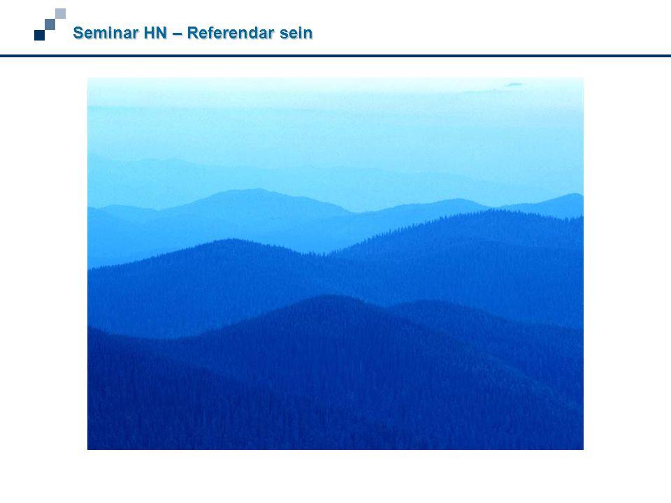 Seminar HN – Referendar sein