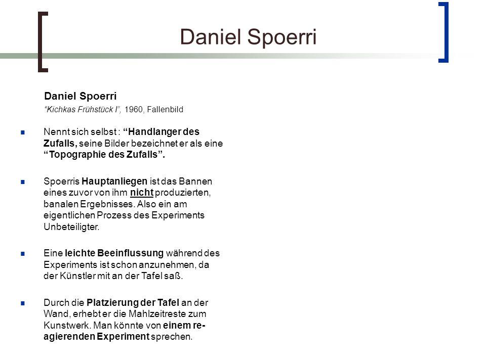 Daniel Spoerri Daniel Spoerri