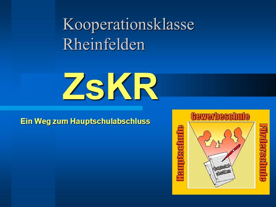 Kooperationsklasse Rheinfelden