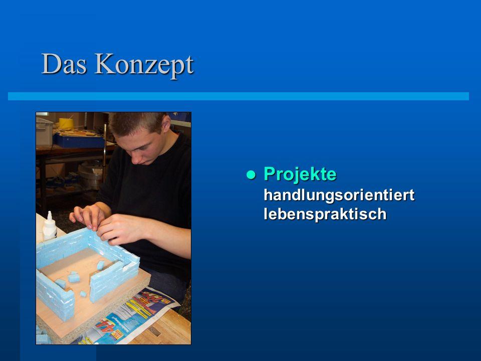 Das Konzept Projekte handlungsorientiert lebenspraktisch