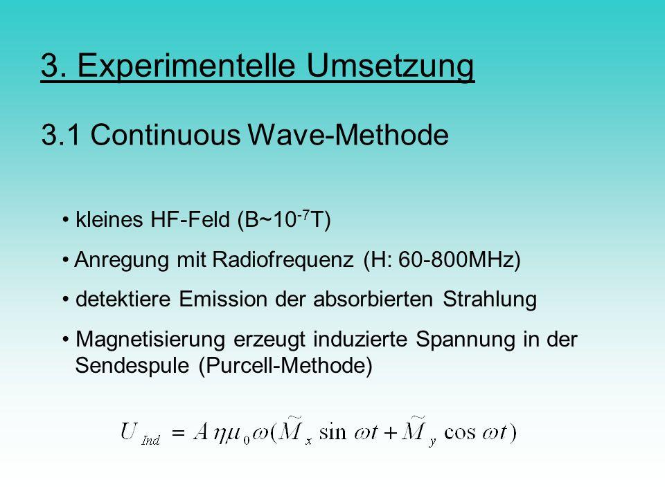 3. Experimentelle Umsetzung