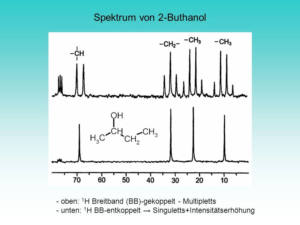 Spektrum von 2-Buthanol