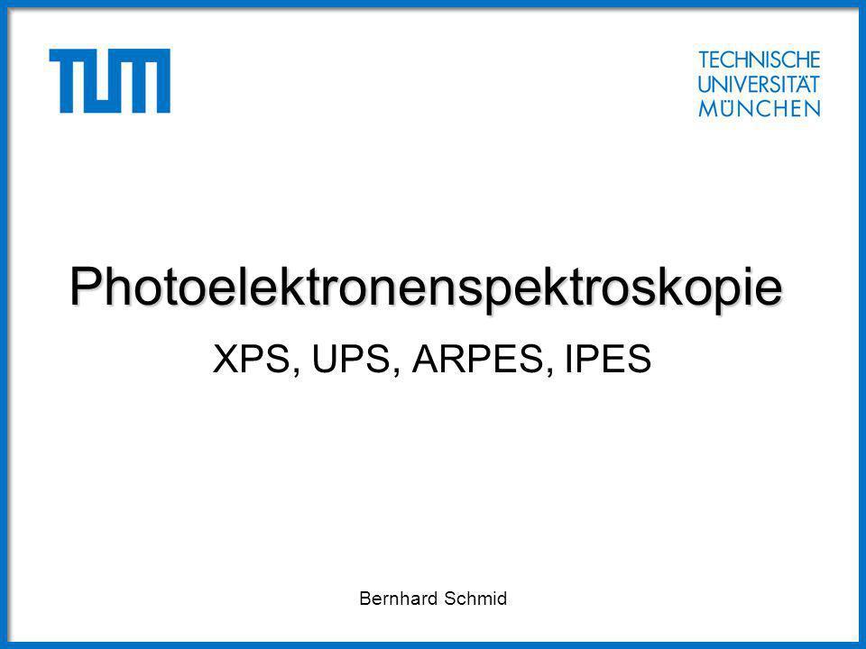 Photoelektronenspektroskopie
