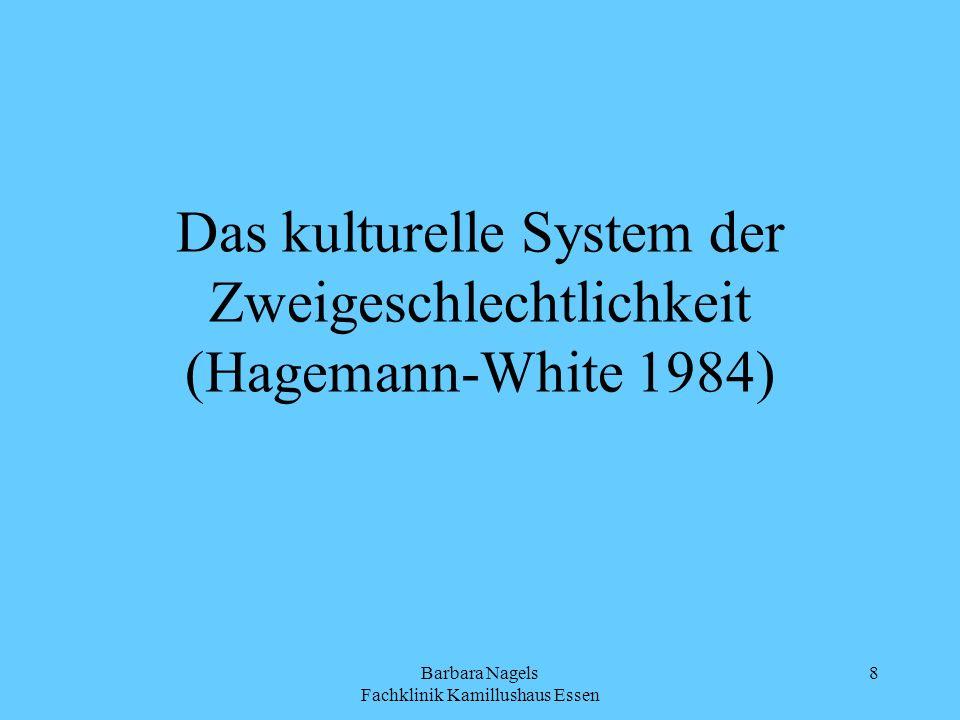 Das kulturelle System der Zweigeschlechtlichkeit (Hagemann-White 1984)