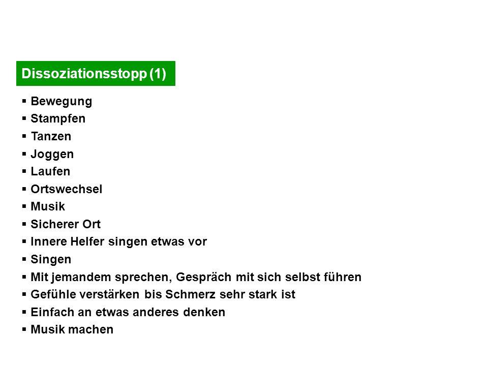 Dissoziationsstopp (1)