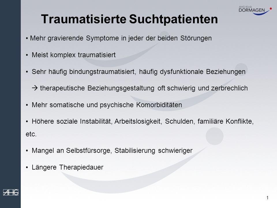 Traumatisierte Suchtpatienten