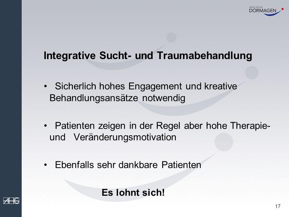Integrative Sucht- und Traumabehandlung