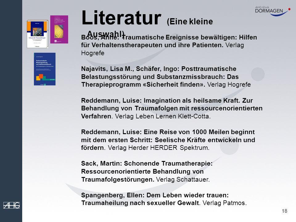 Literatur (Eine kleine Auswahl)