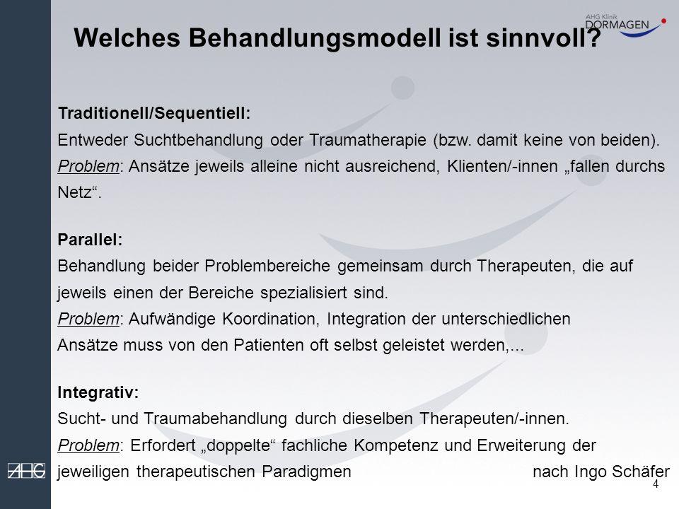 Welches Behandlungsmodell ist sinnvoll