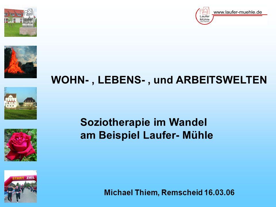 WOHN- , LEBENS- , und ARBEITSWELTEN