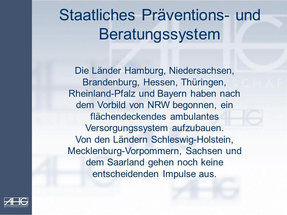 Staatliches Präventions- und Beratungssystem