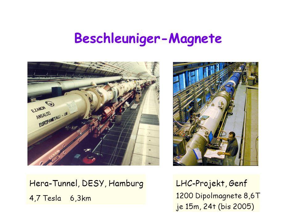 Beschleuniger-Magnete