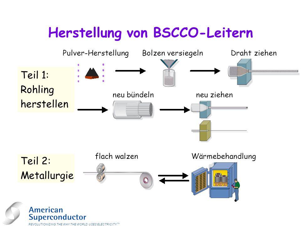 Herstellung von BSCCO-Leitern