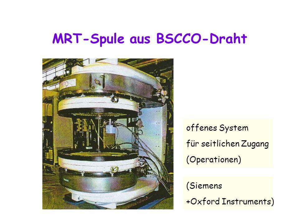 MRT-Spule aus BSCCO-Draht