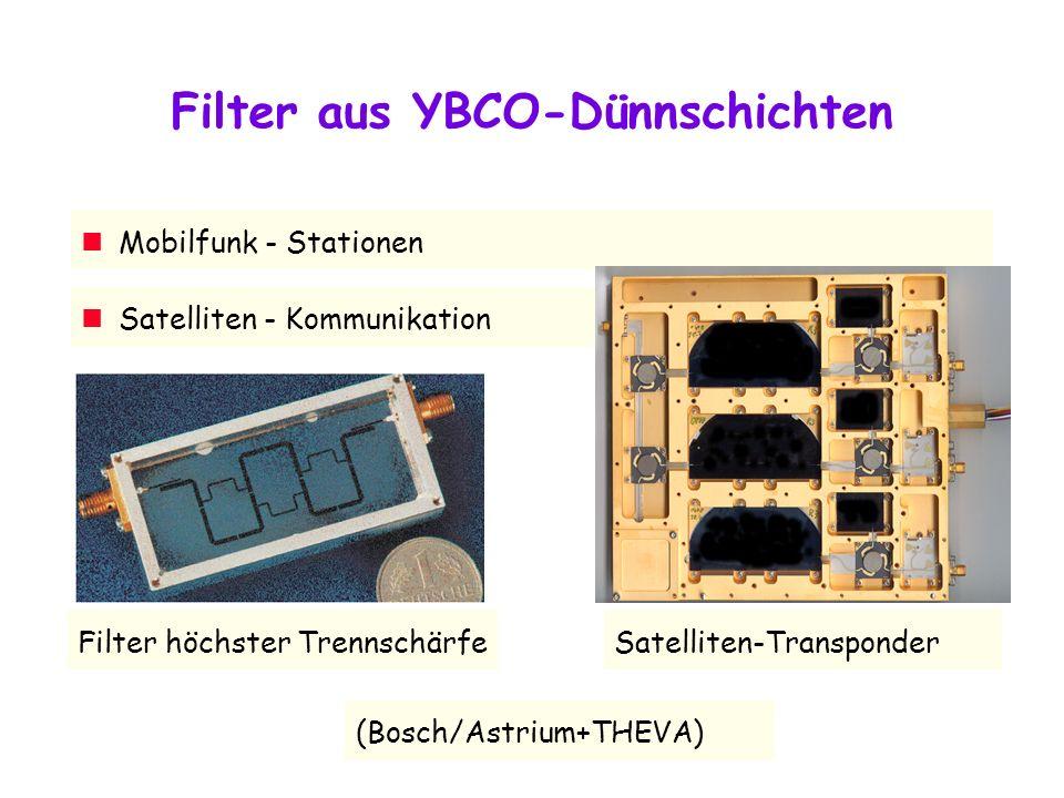 Filter aus YBCO-Dünnschichten