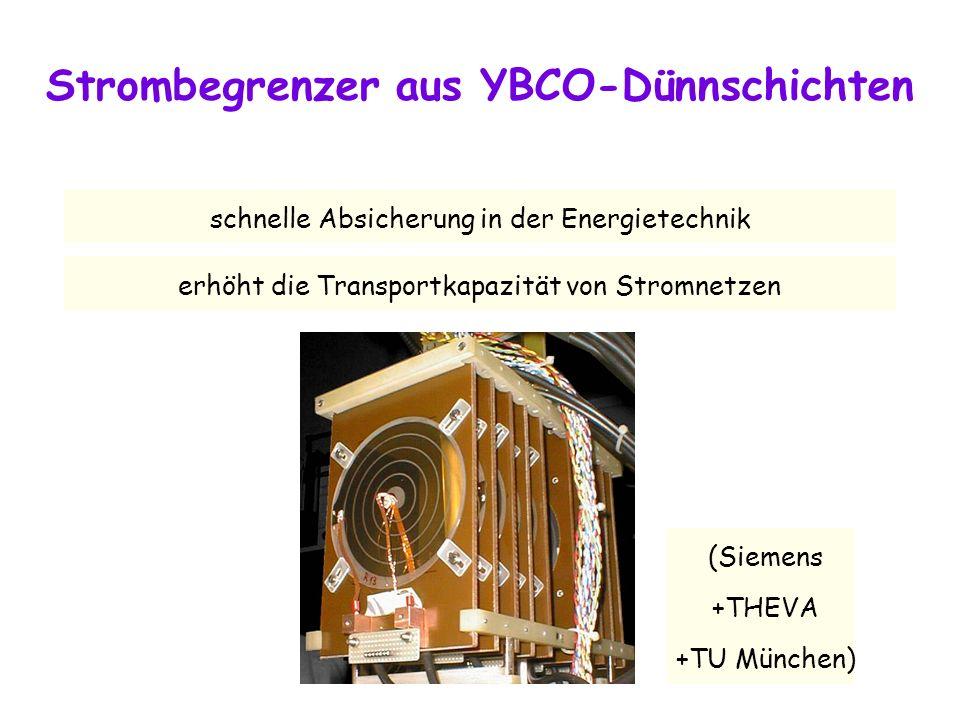 Strombegrenzer aus YBCO-Dünnschichten