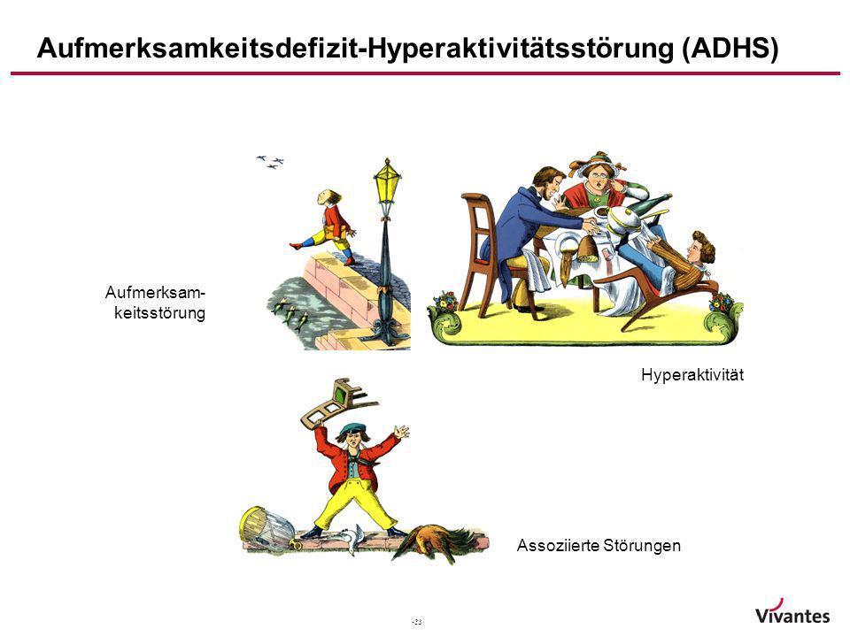 Aufmerksamkeitsdefizit-Hyperaktivitätsstörung (ADHS)