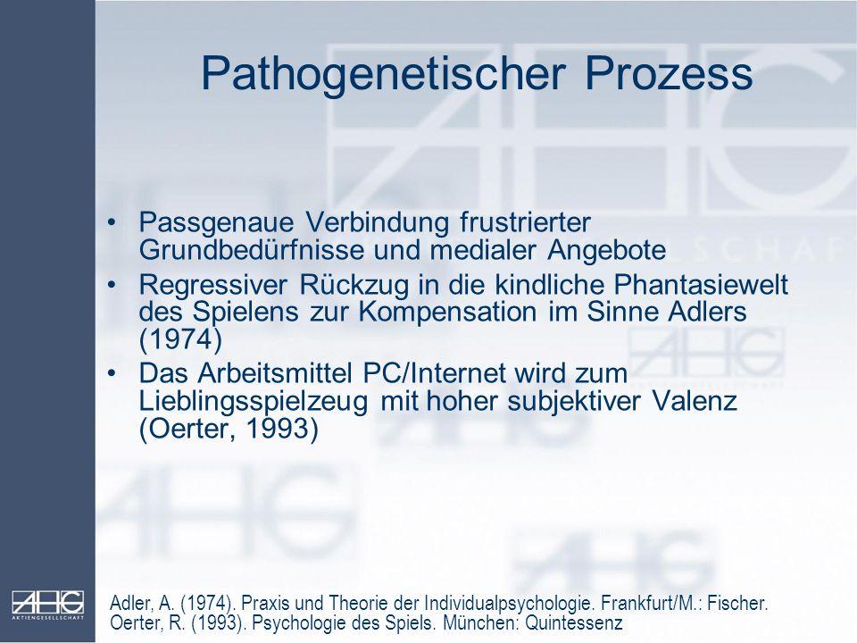 Pathogenetischer Prozess