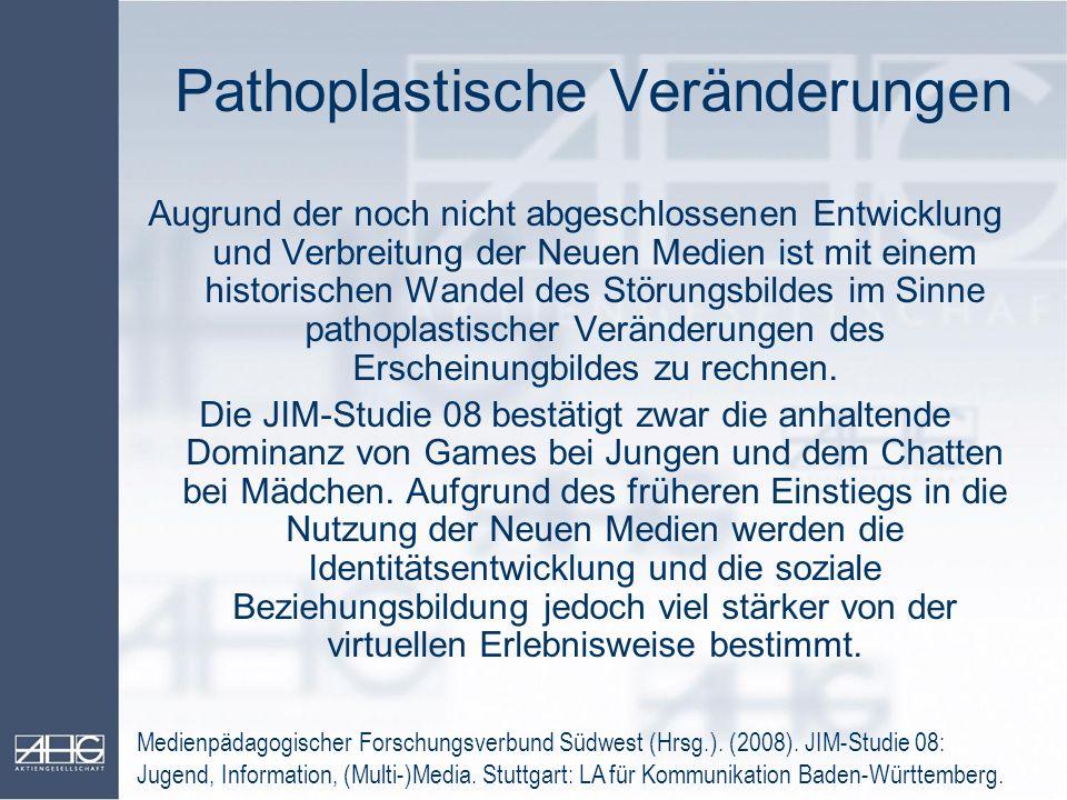 Pathoplastische Veränderungen