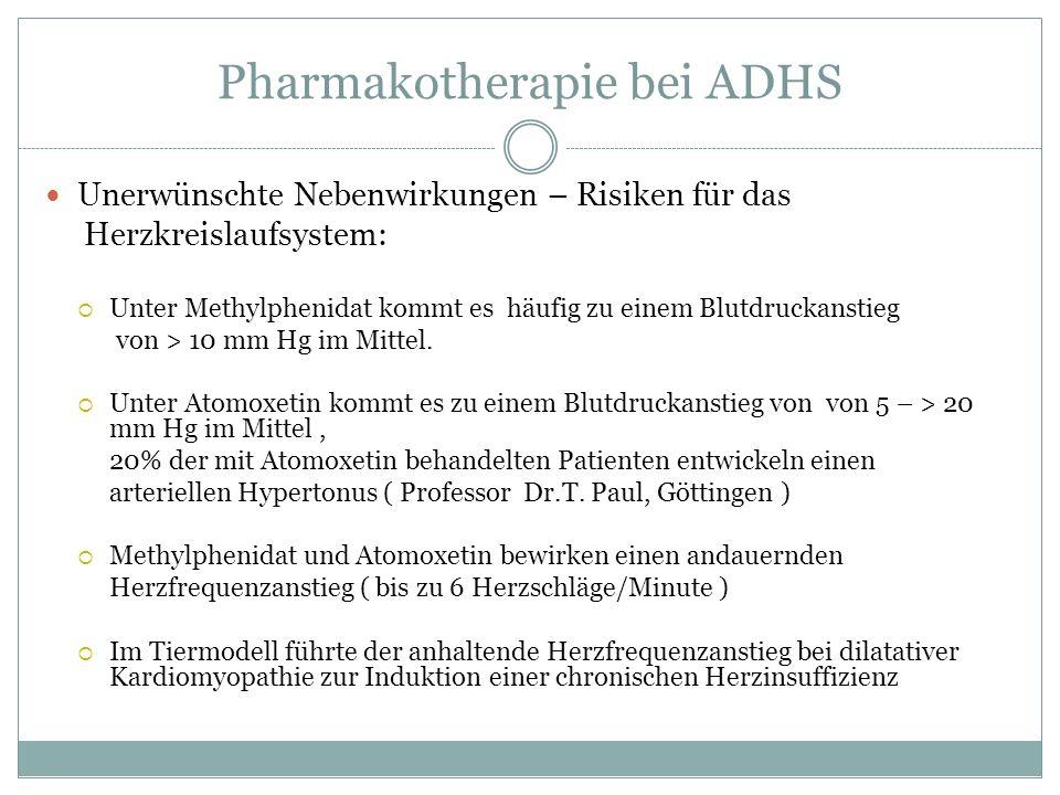 Pharmakotherapie bei ADHS