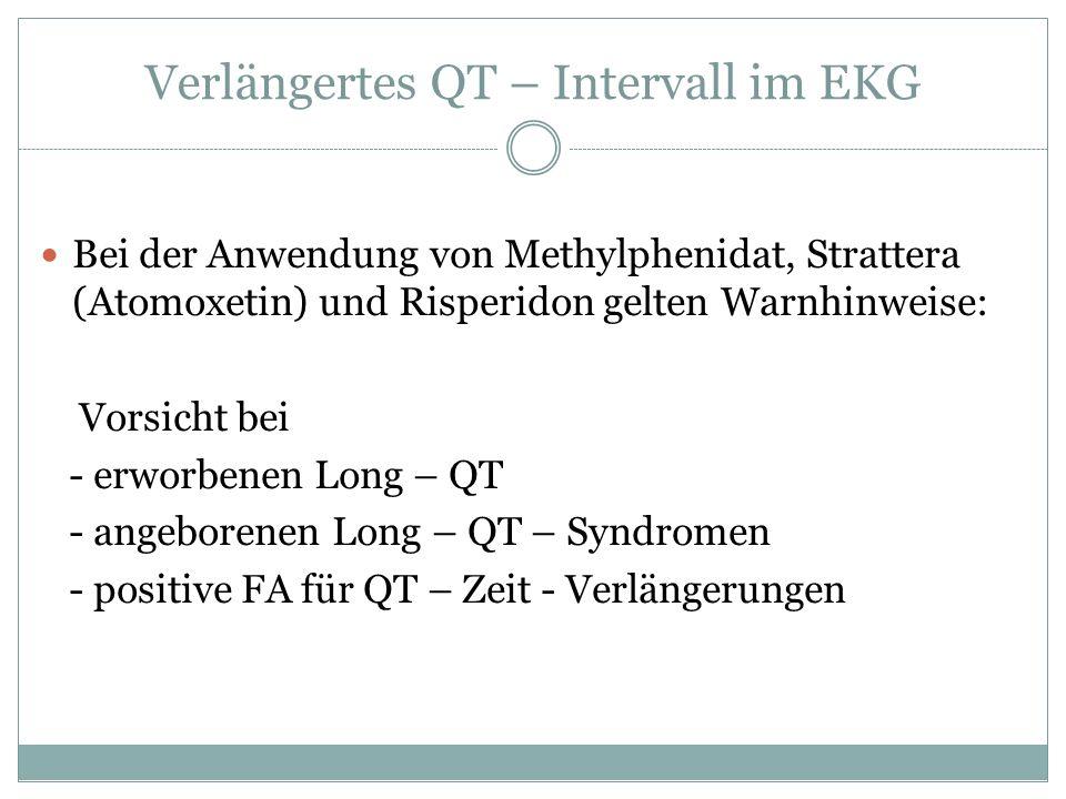 Verlängertes QT – Intervall im EKG