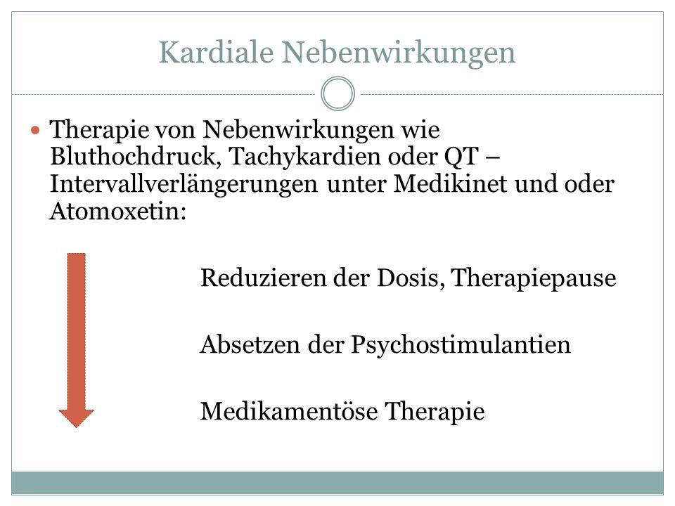 Kardiale Nebenwirkungen