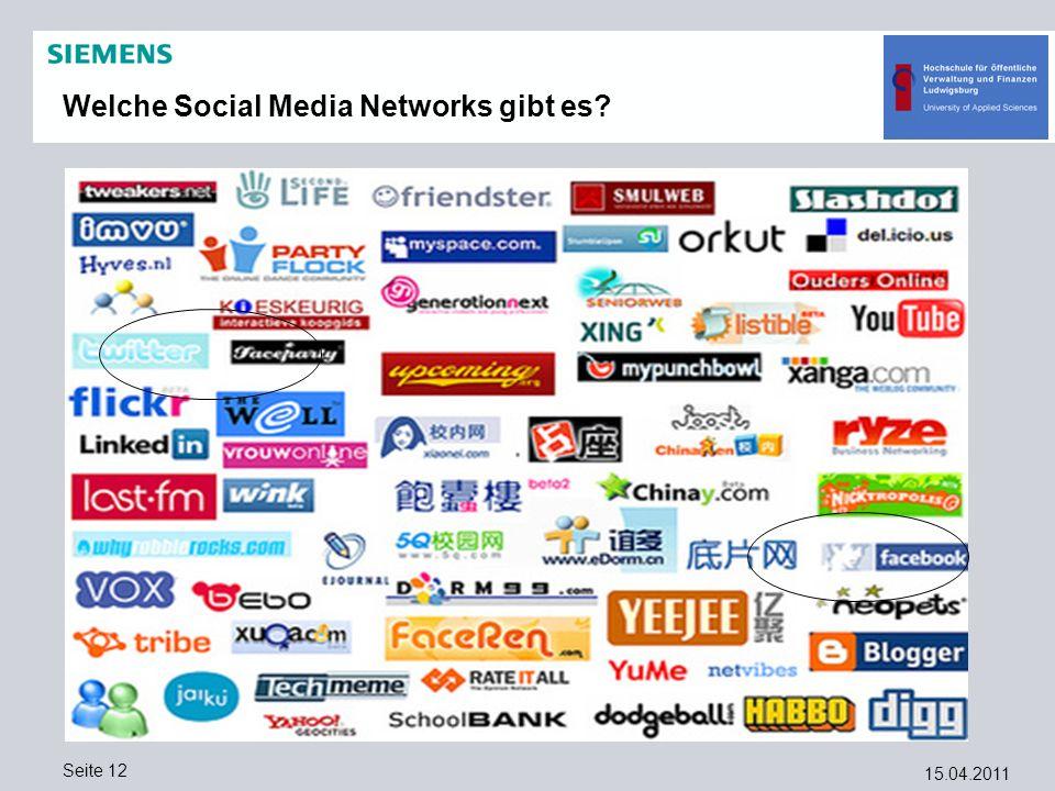 Welche Social Media Networks gibt es