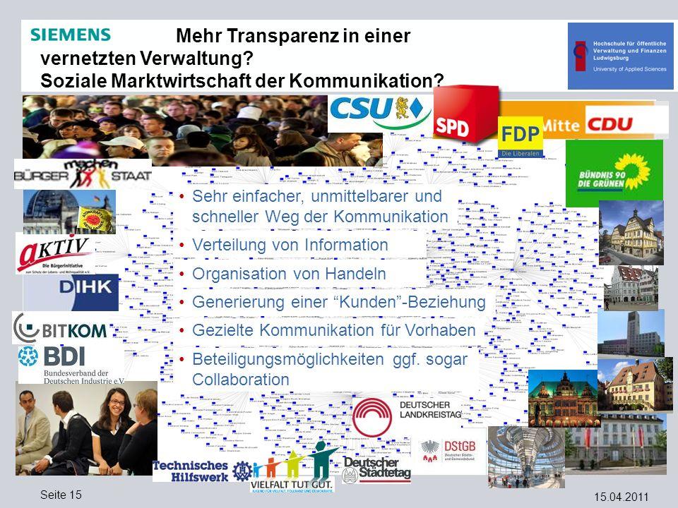 Mehr Transparenz in einer vernetzten Verwaltung