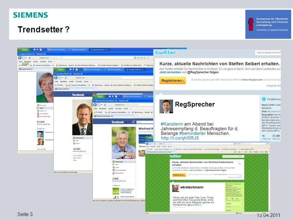 Trendsetter 15.04.2011