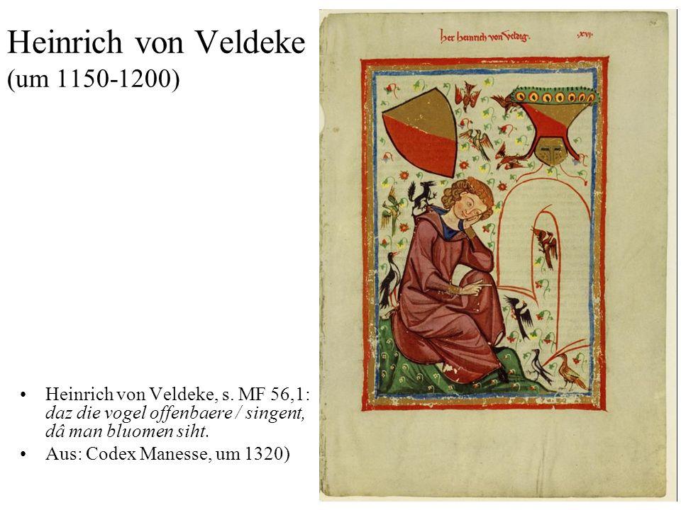 Heinrich von Veldeke (um 1150-1200)
