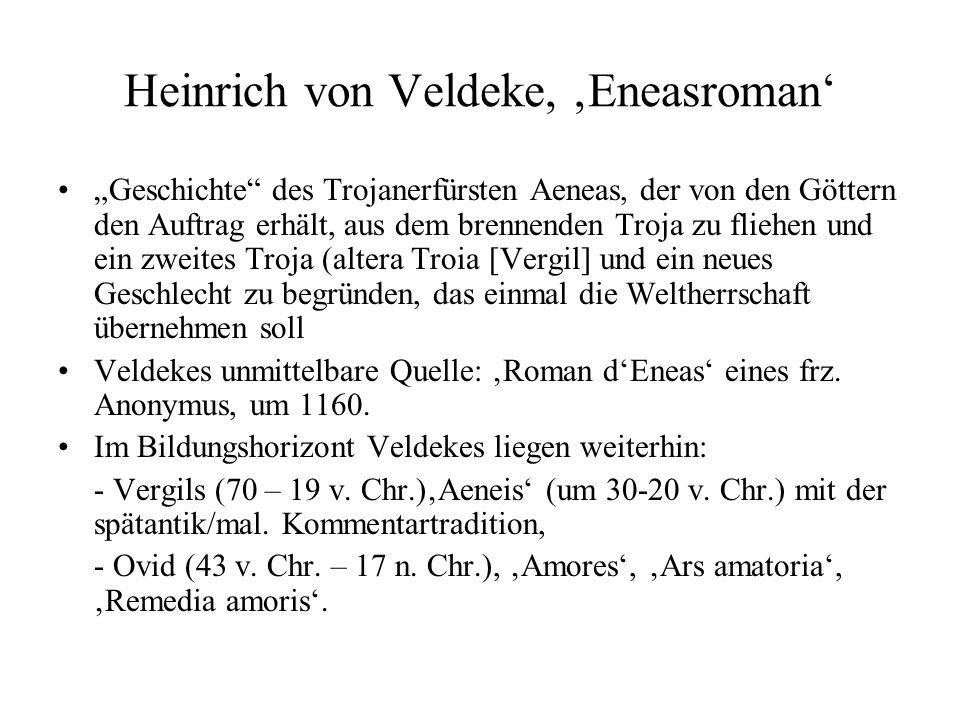 Heinrich von Veldeke, 'Eneasroman'