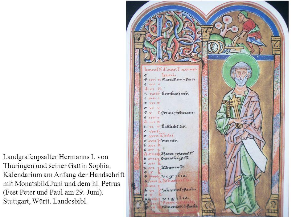 Landgrafenpsalter Hermanns I. von