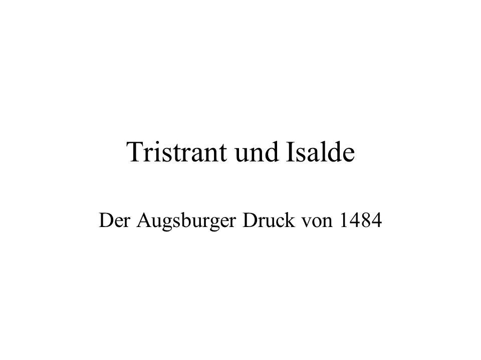 Der Augsburger Druck von 1484