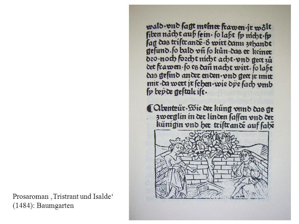 Prosaroman 'Tristrant und Isalde'