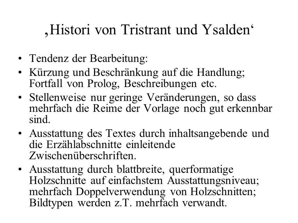 'Histori von Tristrant und Ysalden'